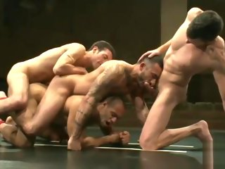 alessio Leo and Alessio vs Dj and Kyle (Tag Team) - Joust & Fuck leo
