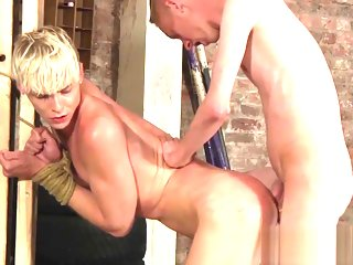 blond Uncompromisingly cute blond Kris is trained hard by big dick Ashton cute
